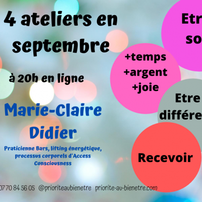 Septembre, on change tout!